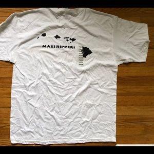 Maui rippers xl nwt men's shirt